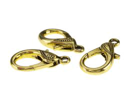 1 Lobster Clasps Gold Trigger Clasp Large 31mm