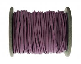 1m Leather Thong Cord Mauve Coloured 1.5mm